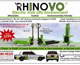 Rhinovo: Product Design + Taxi Wrap Design