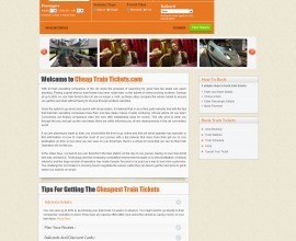 CheapTrainTickets.com (PHP)