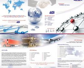 AGI Freight – Brochure Design