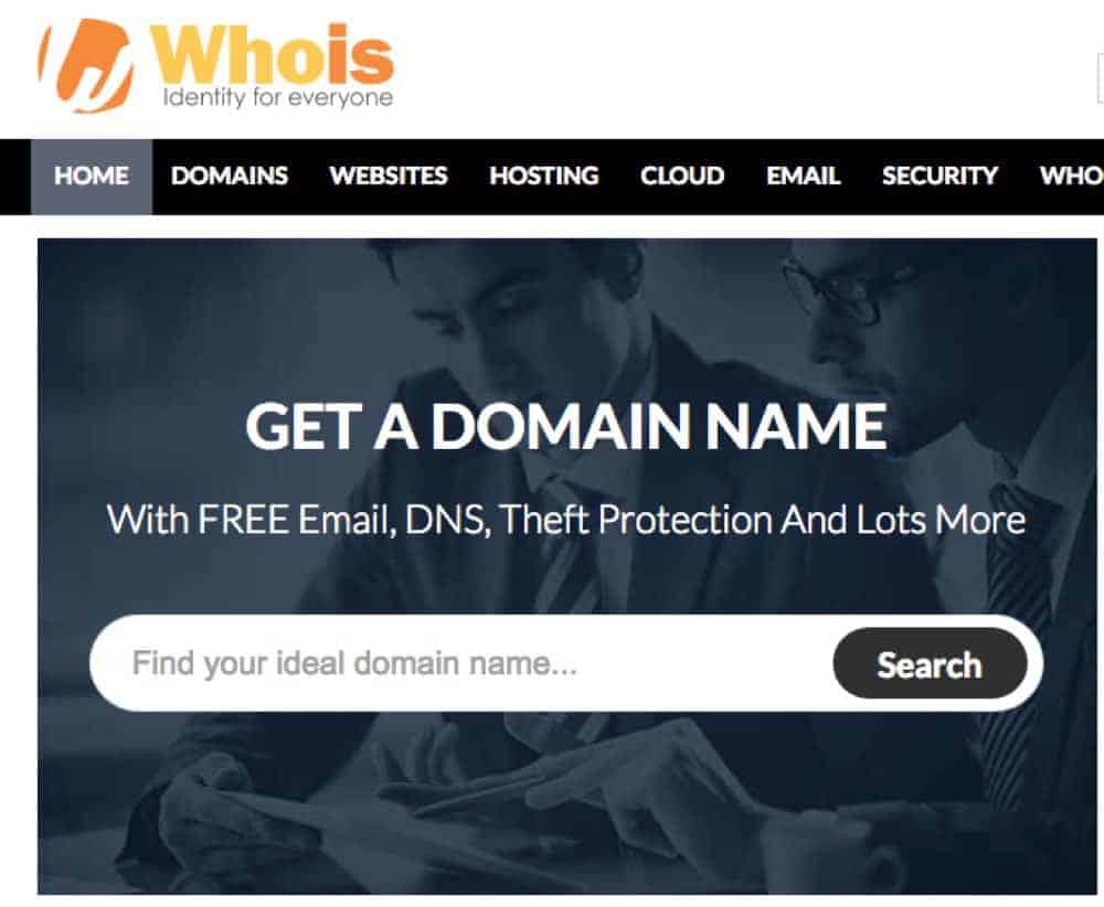 find out real owners of website domain