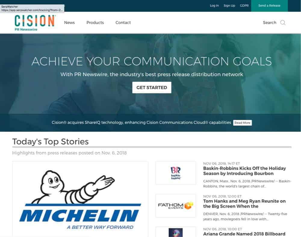 online news PR service