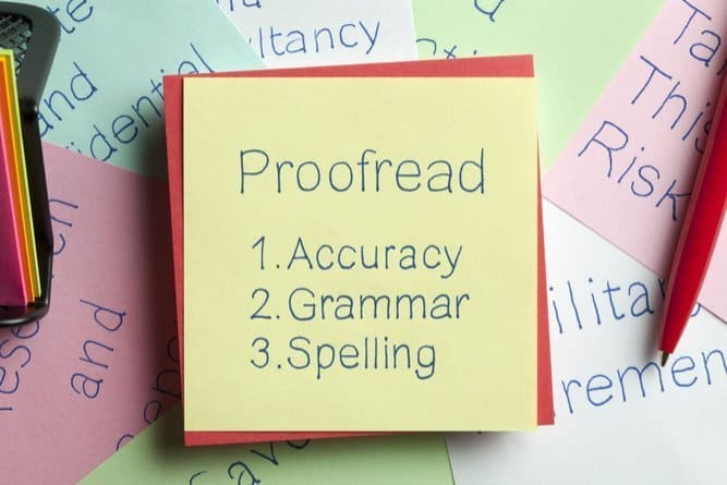 SEO Tips: Grammar and Spelling In Quality Content