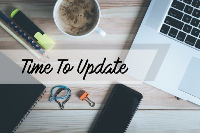 4 Ways To Keep Your Website Updated