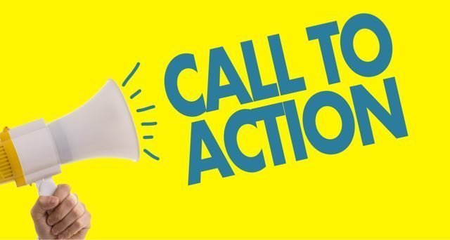 always include a call to action for your online pages