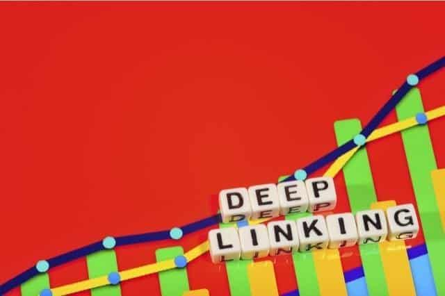 deep linking helps your website link profile