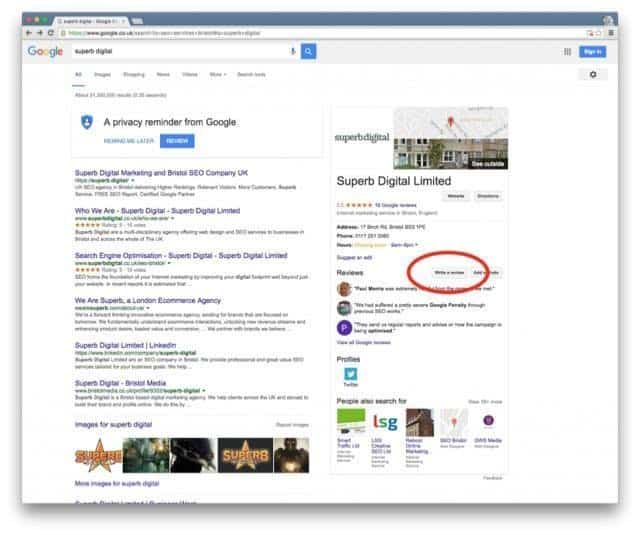 How to Politely Request Customers for Google+ Reviews 1