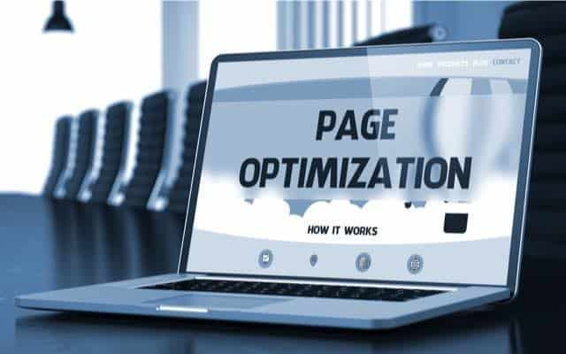 webpage optimisation crucial for local seo
