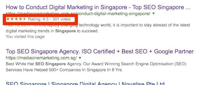 what is a rich snippet in google serps