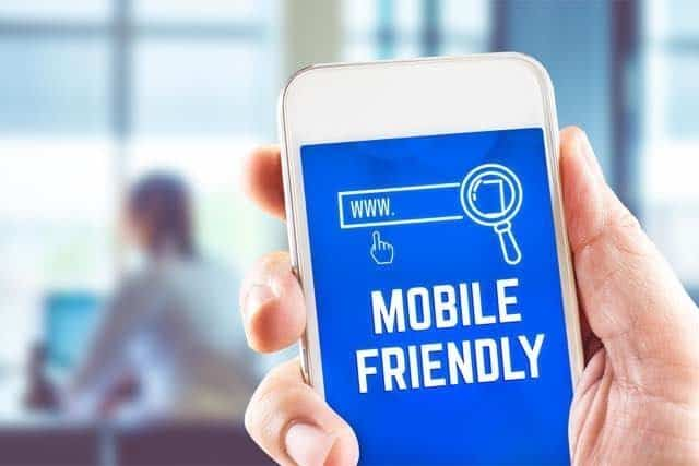 your website needs to be mobile responsive for it to be ranked on google