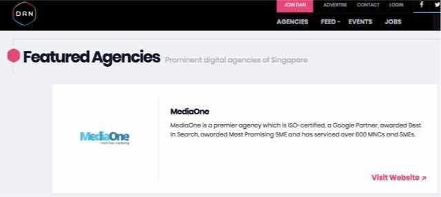 best digital media agency in singapore mediaone