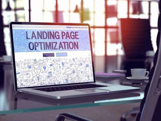 The success of a website often comes down to the landing page.