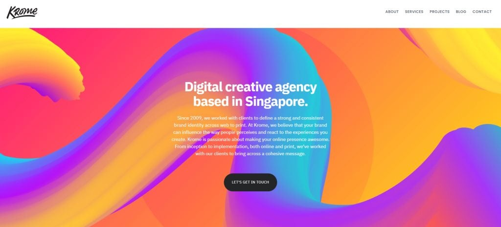 Krome The Top Web Development Companies In Singapore