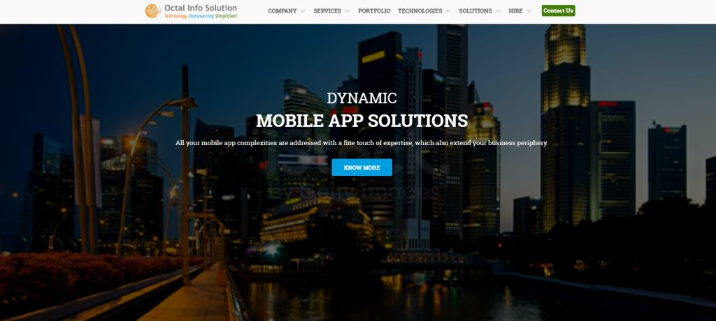 Octal Software The Top Web Development Companies In Singapore