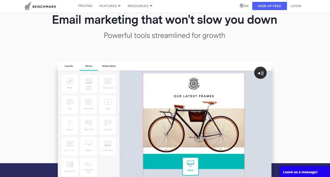 Benchmark Email Marketing Tools