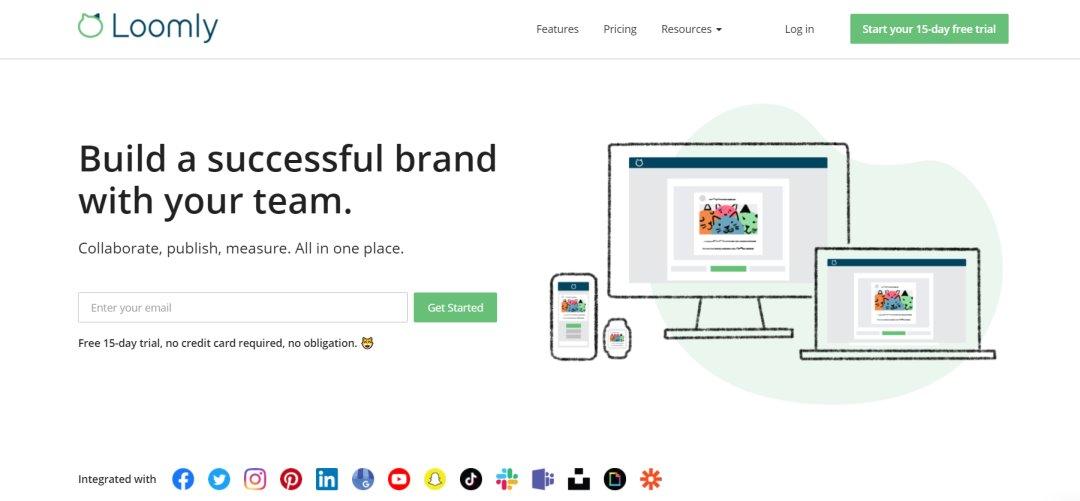 Loomly Social Media Marketing Tools