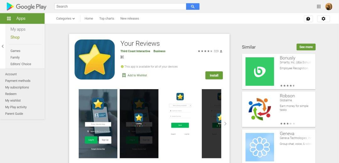 Playstore Reviews App Store Optimisation Tools