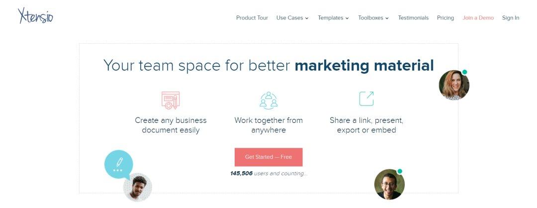 Xtensio Content Marketing Tools