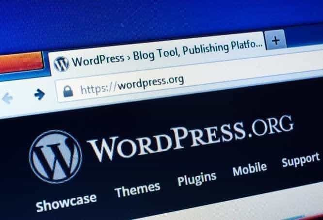 using wordpress to design a SME website in singapore