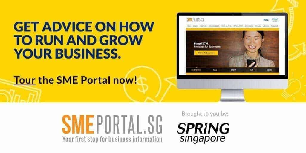 SMEPortal grants loans resources for SME Singapore