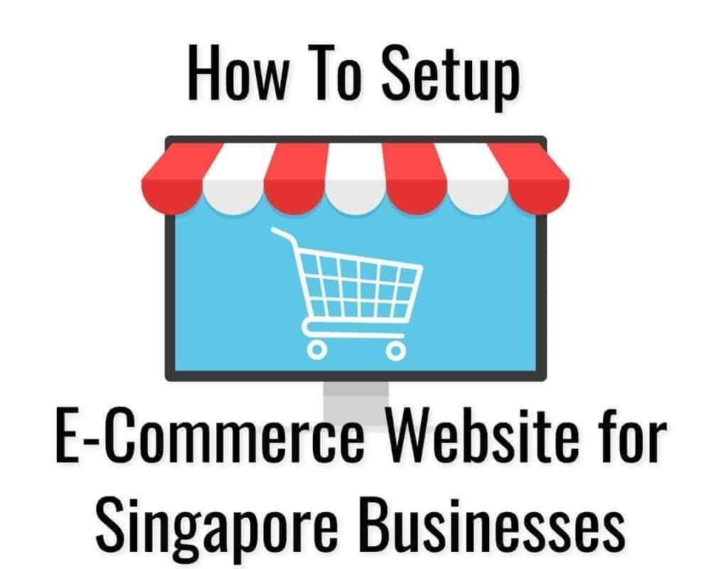 build singapore ecommerce website