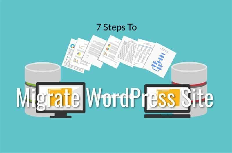 steps to migrate your wordpress.com site to a new server
