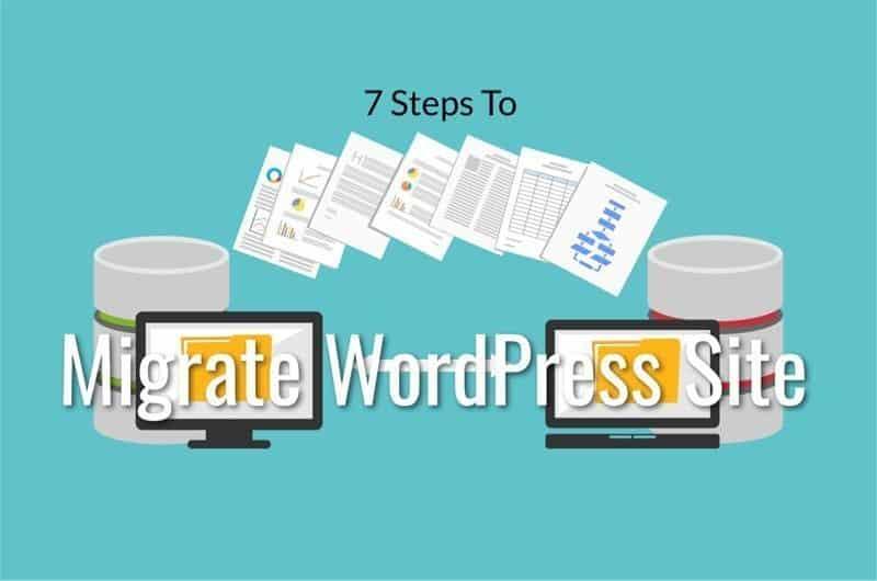 steps to migrate your wordpress.com site to a new server