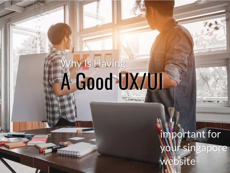 make sure your website has good ux ui