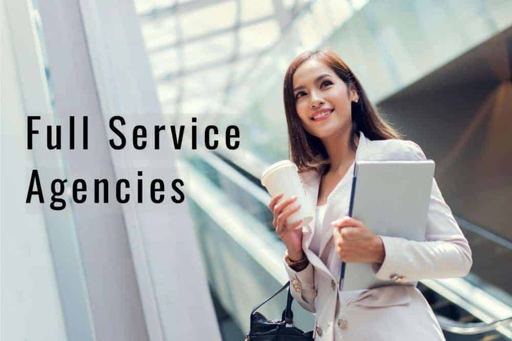 what are full service ad agencies singapore