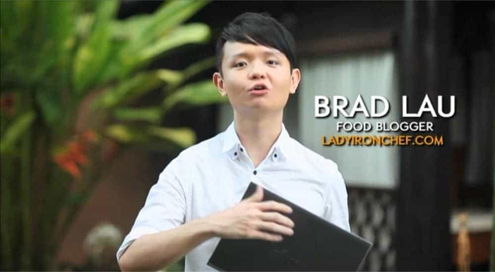brad lau ladyironchef food blogger