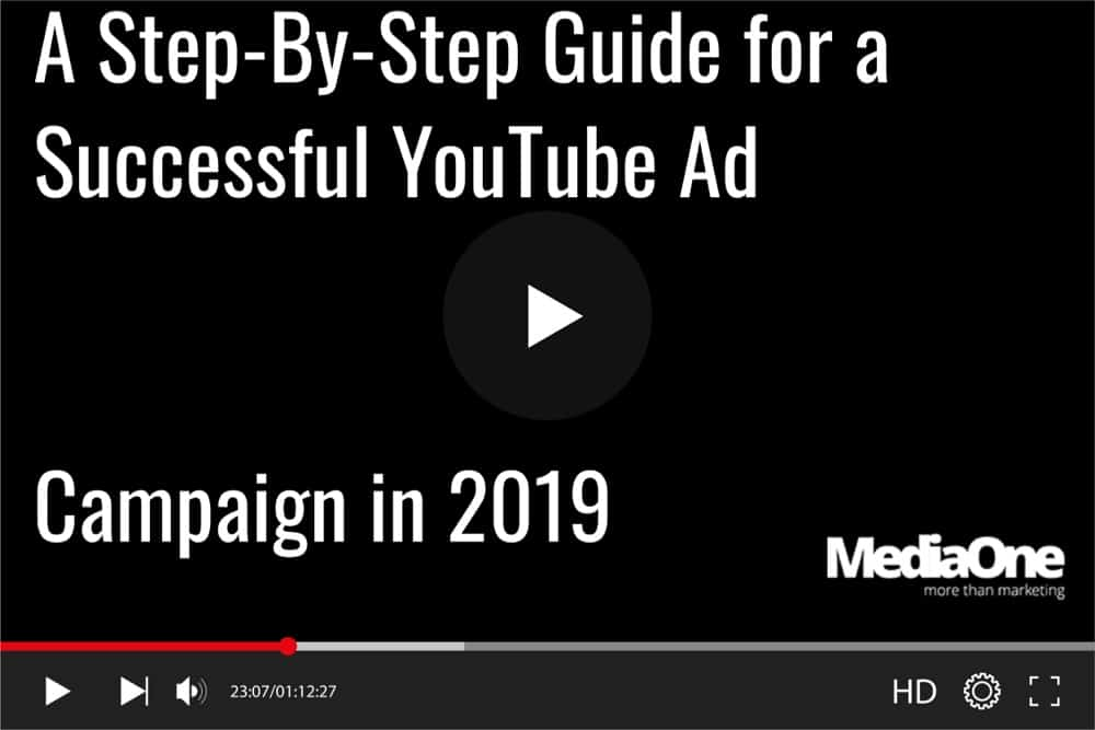 guide for advertising youtube singapore