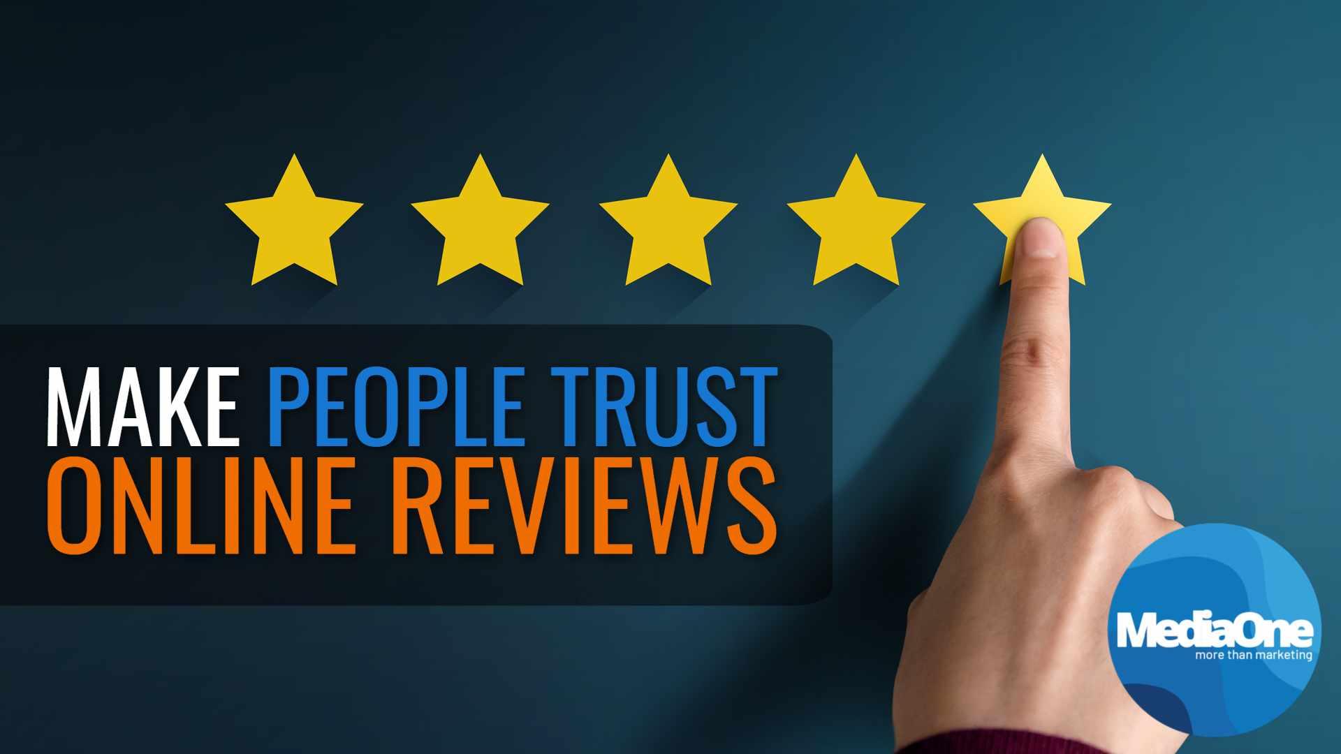 make people trust online reviews