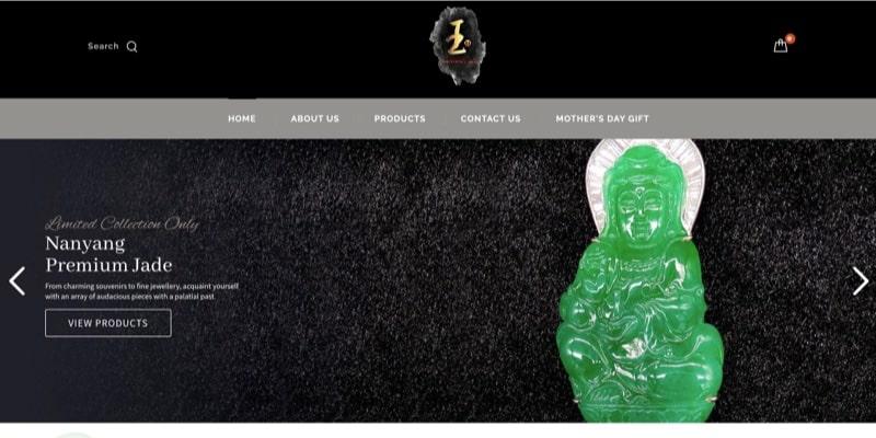 nanyang jade web design