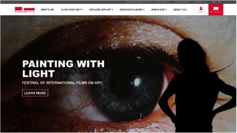 national art gallery website samples 1