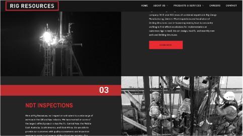 nice website layout