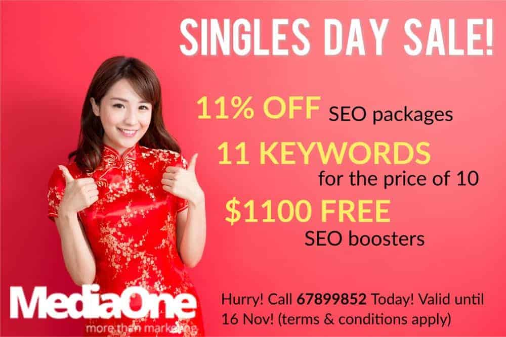 seo packages pricing for singles day singapore