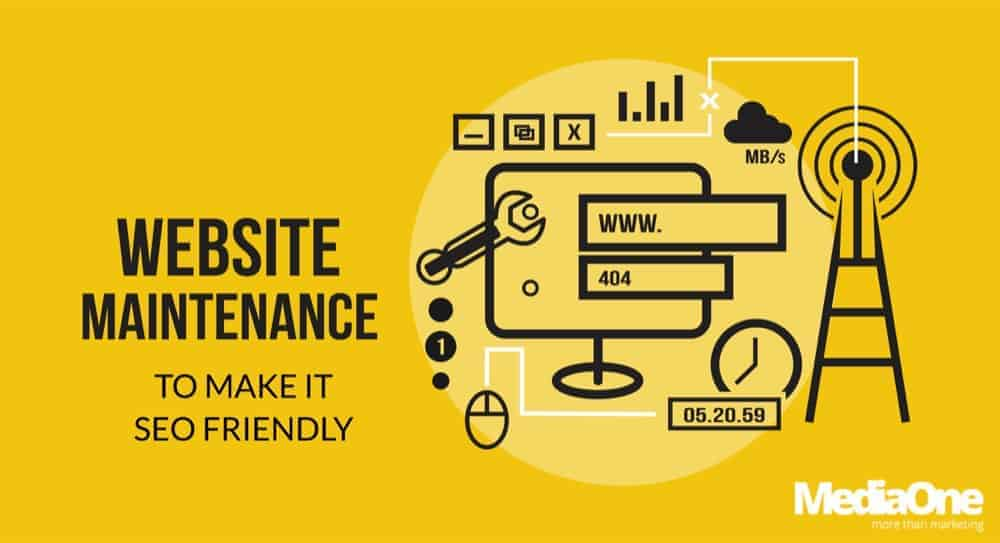 web maintenance to help SEO
