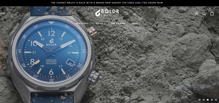The Boldr Watches