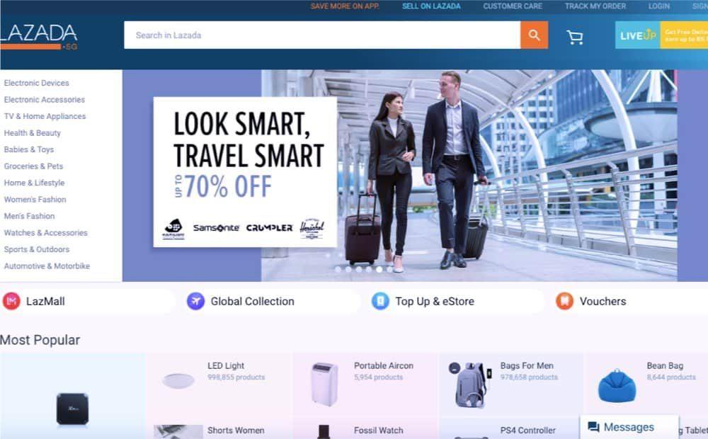 best e-commerce design concept singapore