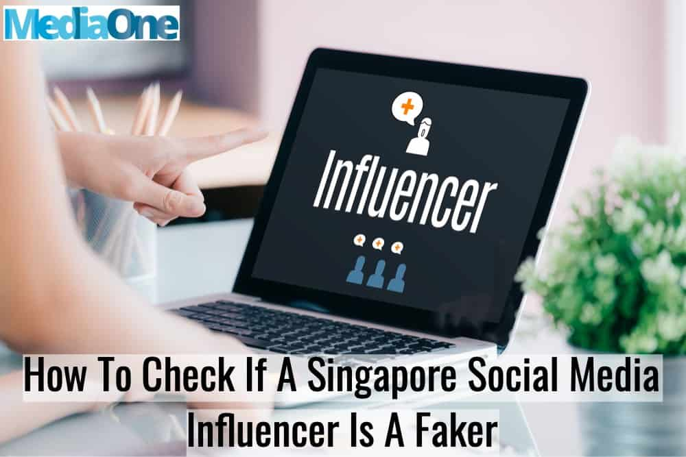 check if singapore influencer is a fake