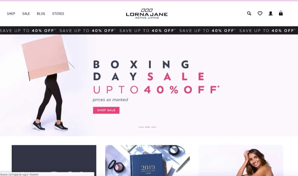 clothes and accessories e-commerce website design singapore