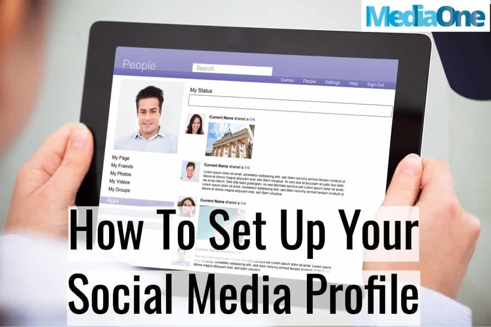 tips on how to improve your social media profile