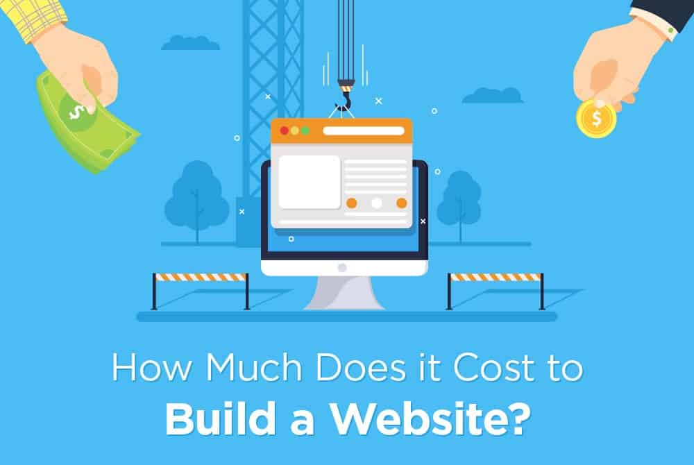 cost of web design and development