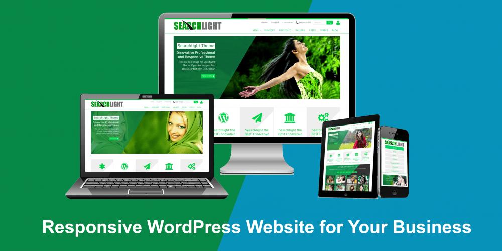 WordPress website in Singapore