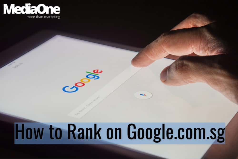 google singapore how to rank
