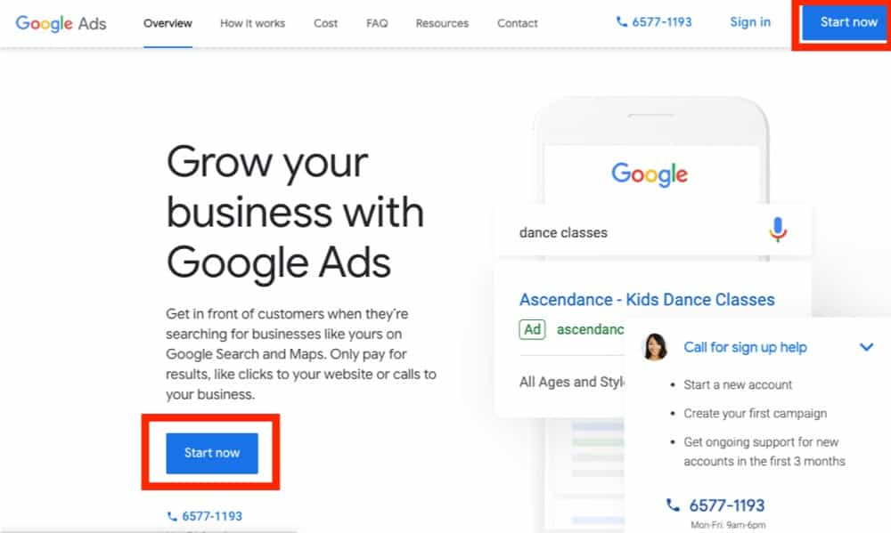 guide to how to start on google ads