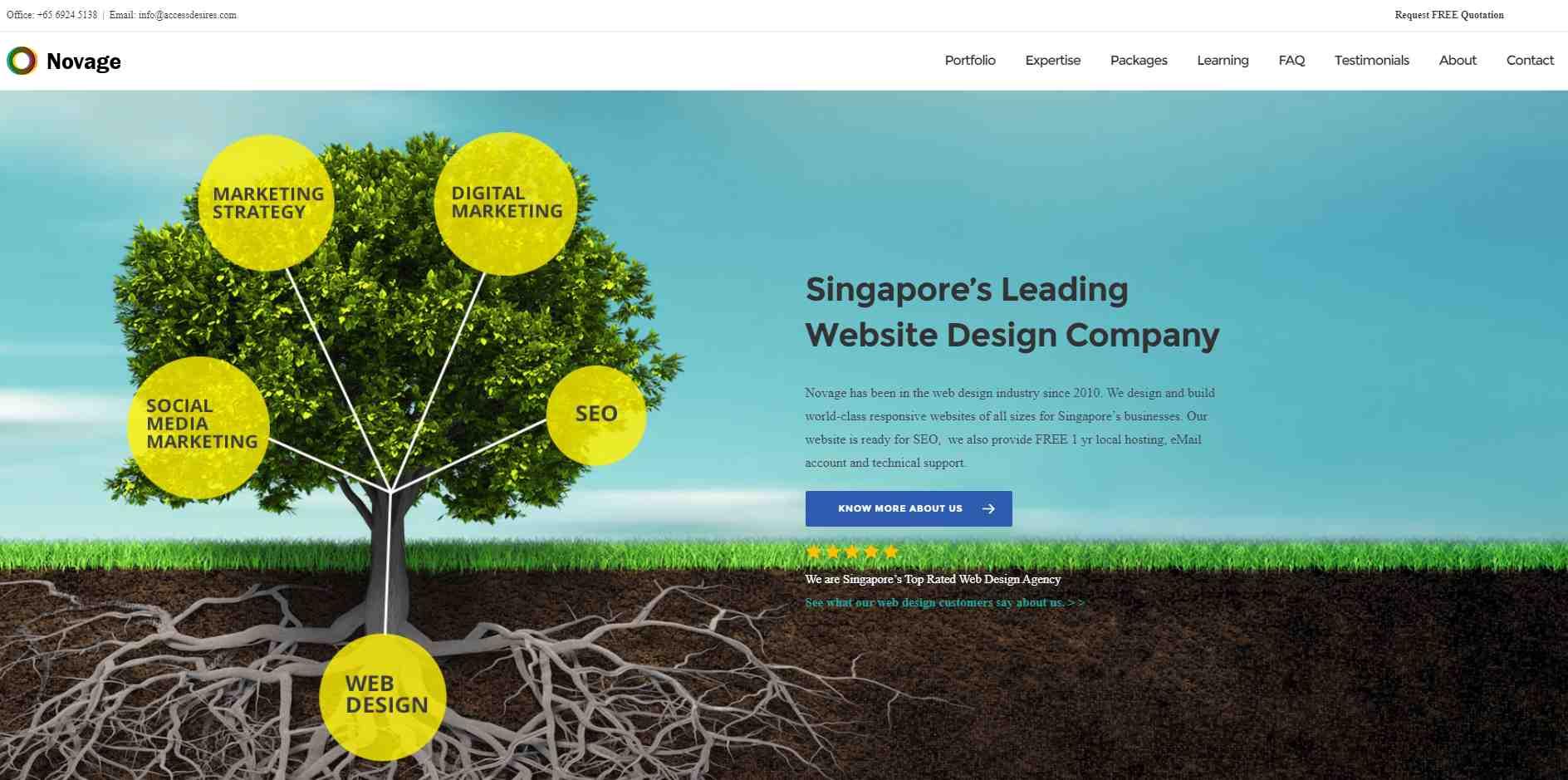 novage Should I Go for a Cheap Website Design in Singapore
