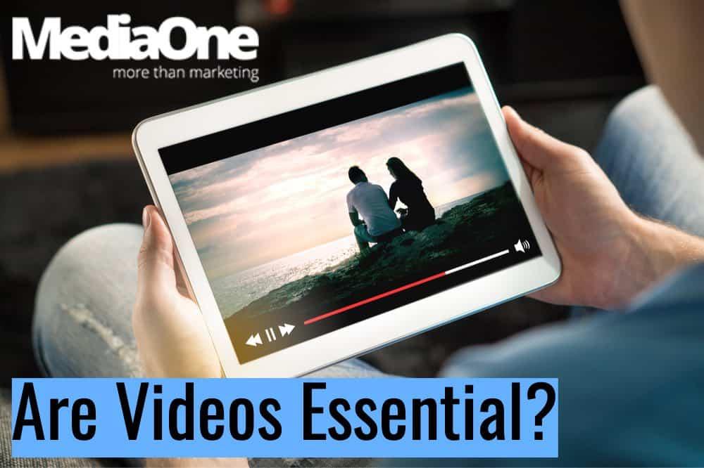 video in website design singapore