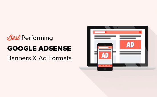 highest-performing Google AdSense banner formats and sizes