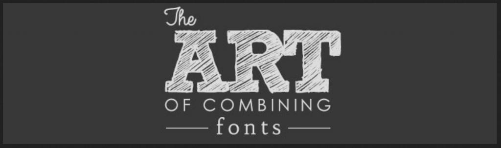 Art of Combining Fonts