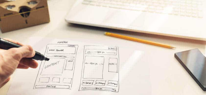 designing a homepage